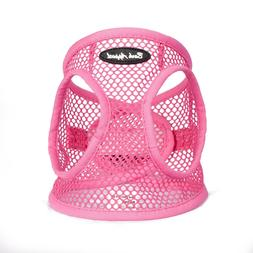 Bark Appeal EZ Wrap Netted Dog Step In Harness Pink Sizes XX
