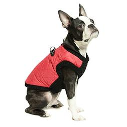 Gooby - Fashion Vest, Small Dog Sweater Bomber Jacket Coat w