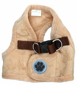 Lanyar Fleece Soft Pet Harness Vest for Small/Medium Medium: