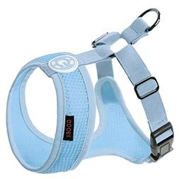 Gooby - Freedom Harness II, Choke Free Mesh Harness for Smal