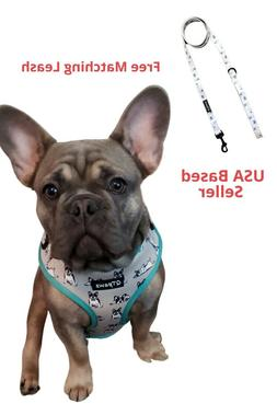 Adjustable Vest Harness for French Bull Dogs - Frenchie Them
