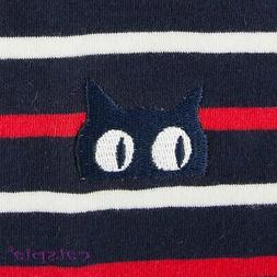 Fritz Cat Sweater by Catspia - Navy