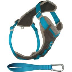 Kurgo Gray & Blue Journey Dog Harness, Small, Grey / Blue