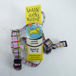 Yellow Dog Design H-TP100XS Tartan Pink Roman Harness - Extr