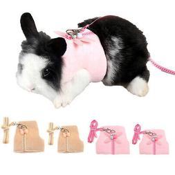 Hamster Gerbil Rat Mouse Guinea Pig Harness Vest Leash Pet T