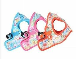 PUPPIA HARNESS Dog Puppy Soft Vest-Spring Garden-B-Any Size