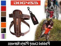 EzyDog Harness Padded Chest Plate Dog Harnesses & Bonus Car