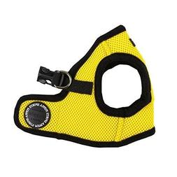 PUPPIA International Harness Soft B Vest, Medium, Yellow