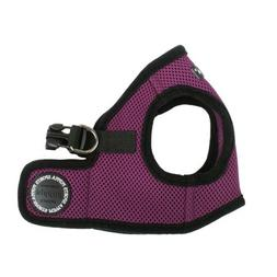 PUPPIA International Harness Soft B Vest, Medium, Purple