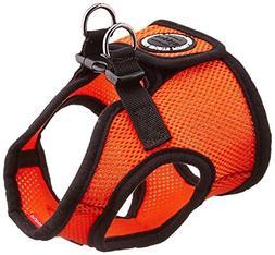 PUPPIA International Harness Soft B Vest, Medium, Orange