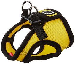 PUPPIA International Harness Soft B Vest, Small, Yellow
