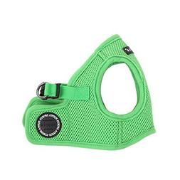 PUPPIA International Harness Soft B Vest, Medium, Green