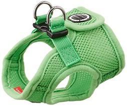 PUPPIA International Harness Soft B Vest, Small, Green