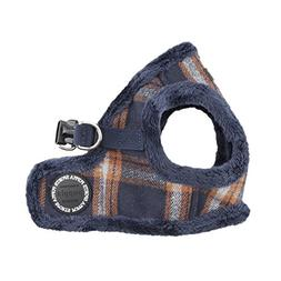 Puppia Kemp Harness-B for Pets, Navy, Medium
