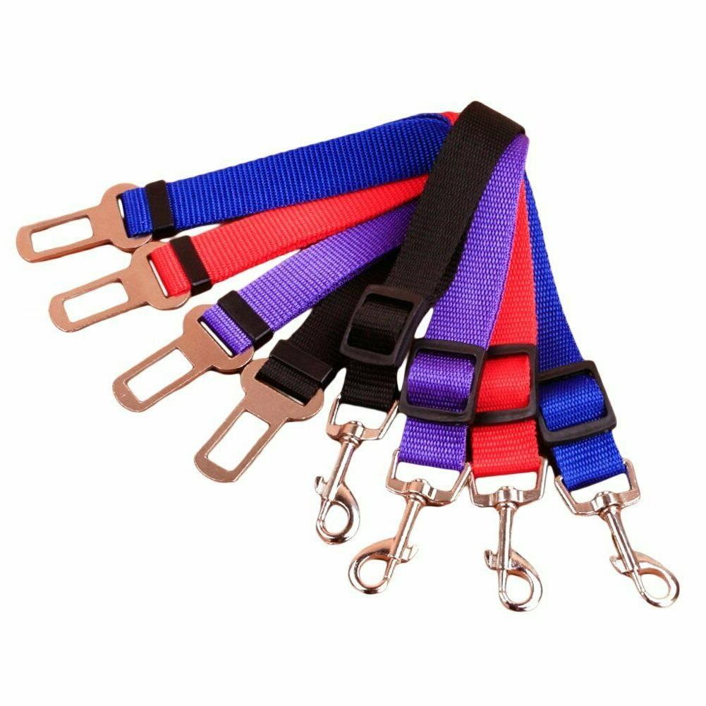 2 Pack Cat Dog Pet Seat Clip Adjustable Harness Lead