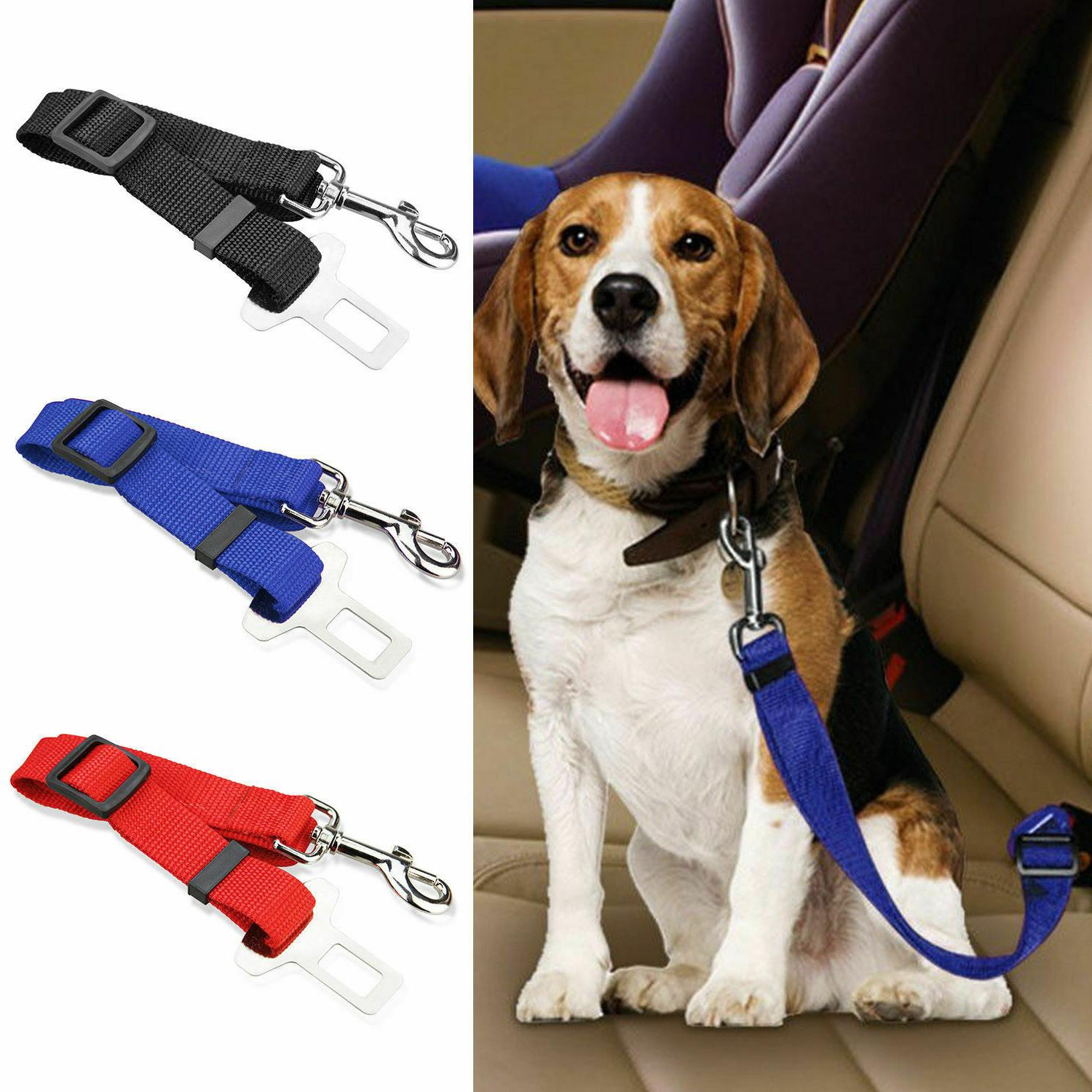 2 Pack Pet Safety Seat Adjustable
