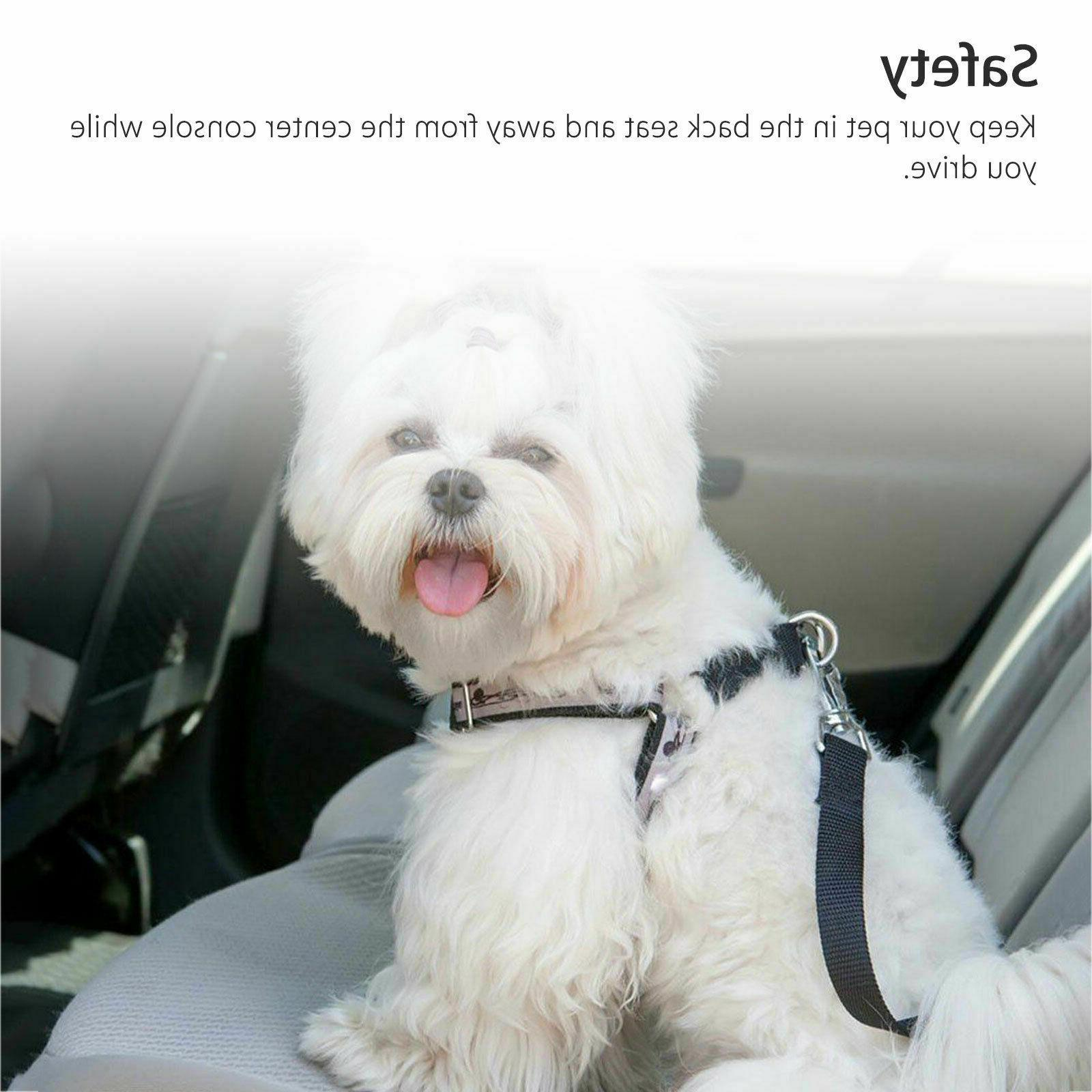 2 Pet Seatbelt Car Harness