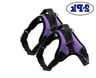 2-PACK Harness Adjustable Small Medium Large