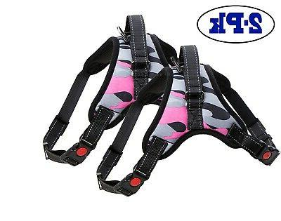 2-PACK Pet Harness Strap Small Medium No Pull