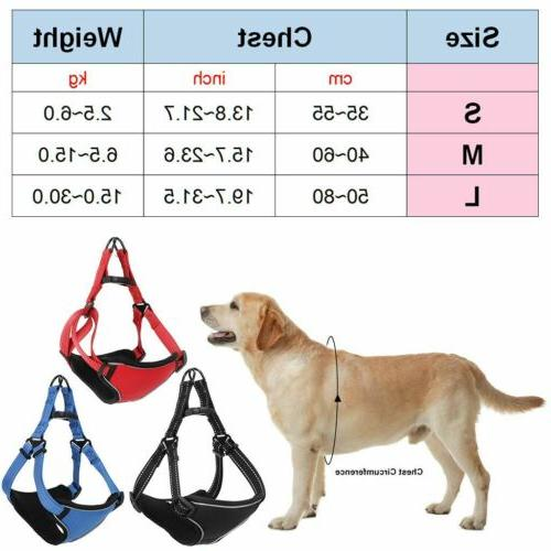 Pet Dog Harness Dogs L
