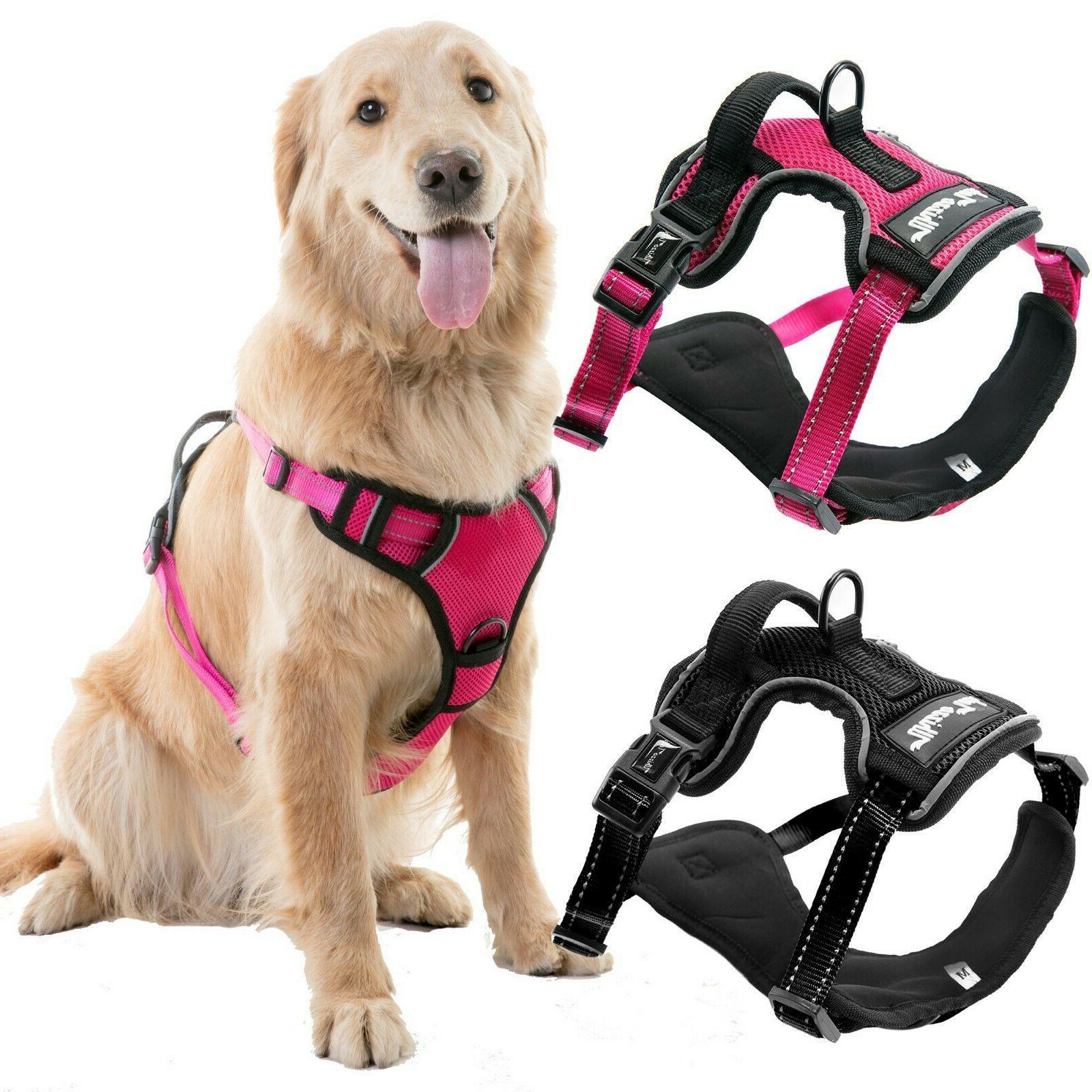 adjustable no pull dog pet vest harness