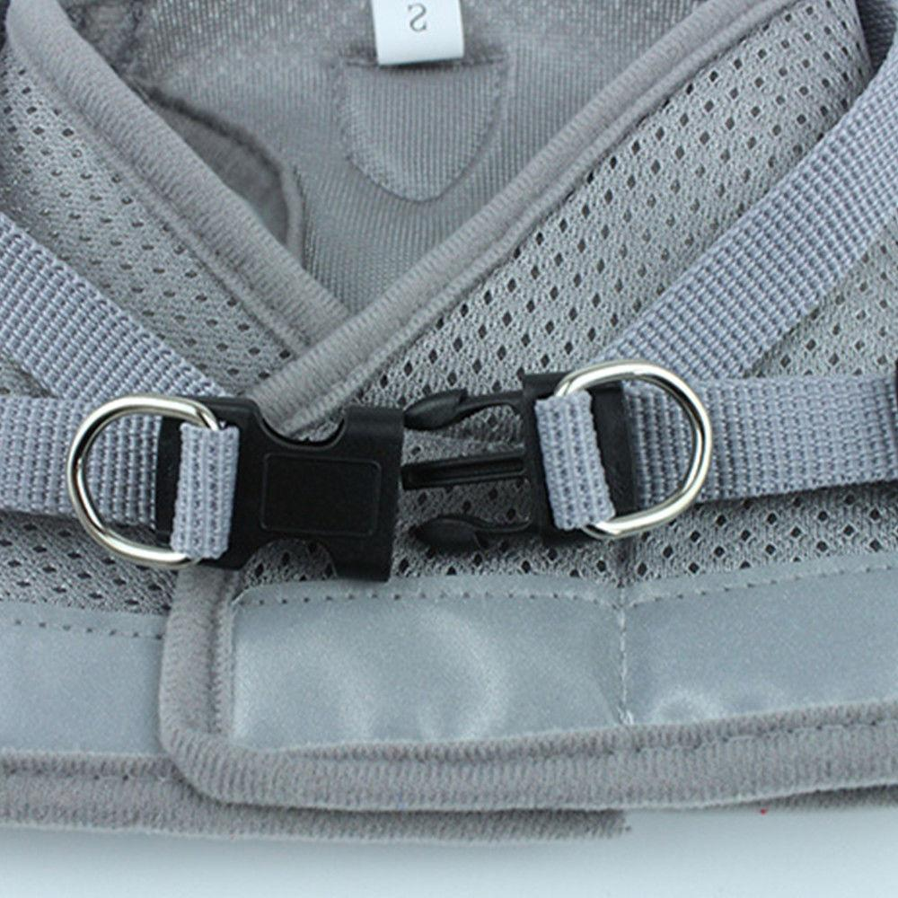 Small Dog harness with soft strap adjustable XXS-L