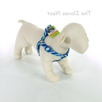 Top Paw® Angle Stripe Step In Dog Harness size: Medium