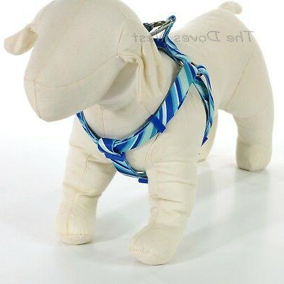 Top Paw® Angle Stripe Step In Dog Harness size: Large