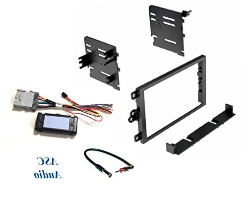 audio car stereo dash kit