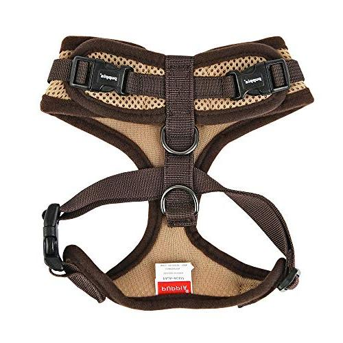 Puppia RiteFit with Adjustable Beige