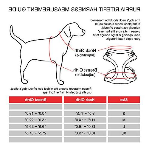 Puppia Harness with Adjustable Neck, Beige