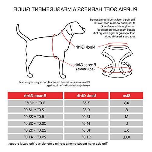 Puppia Dog Harness, Sky X-Small
