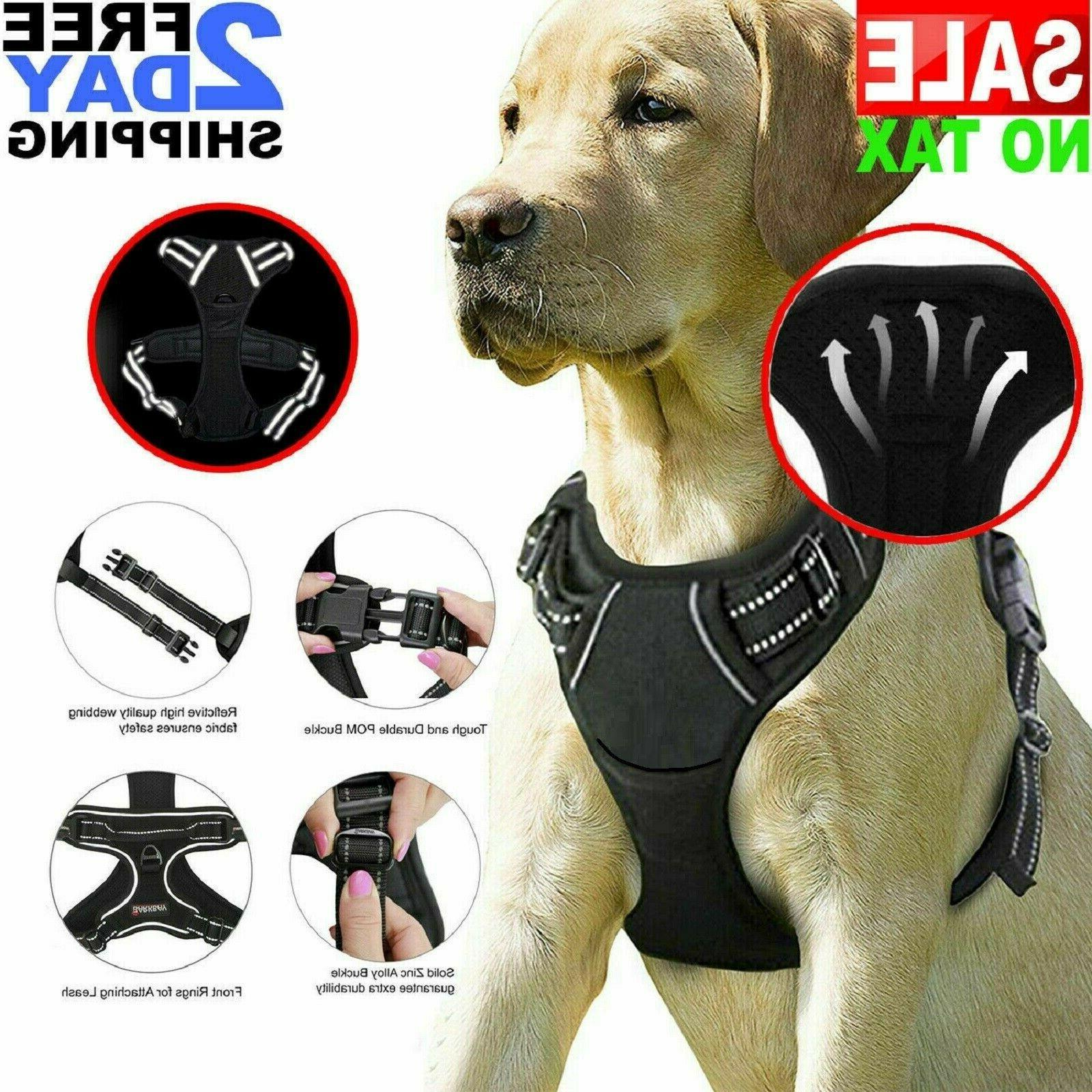 big dog harness no pull pet vest