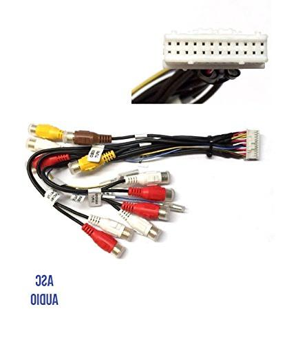 car stereo rca wire harness