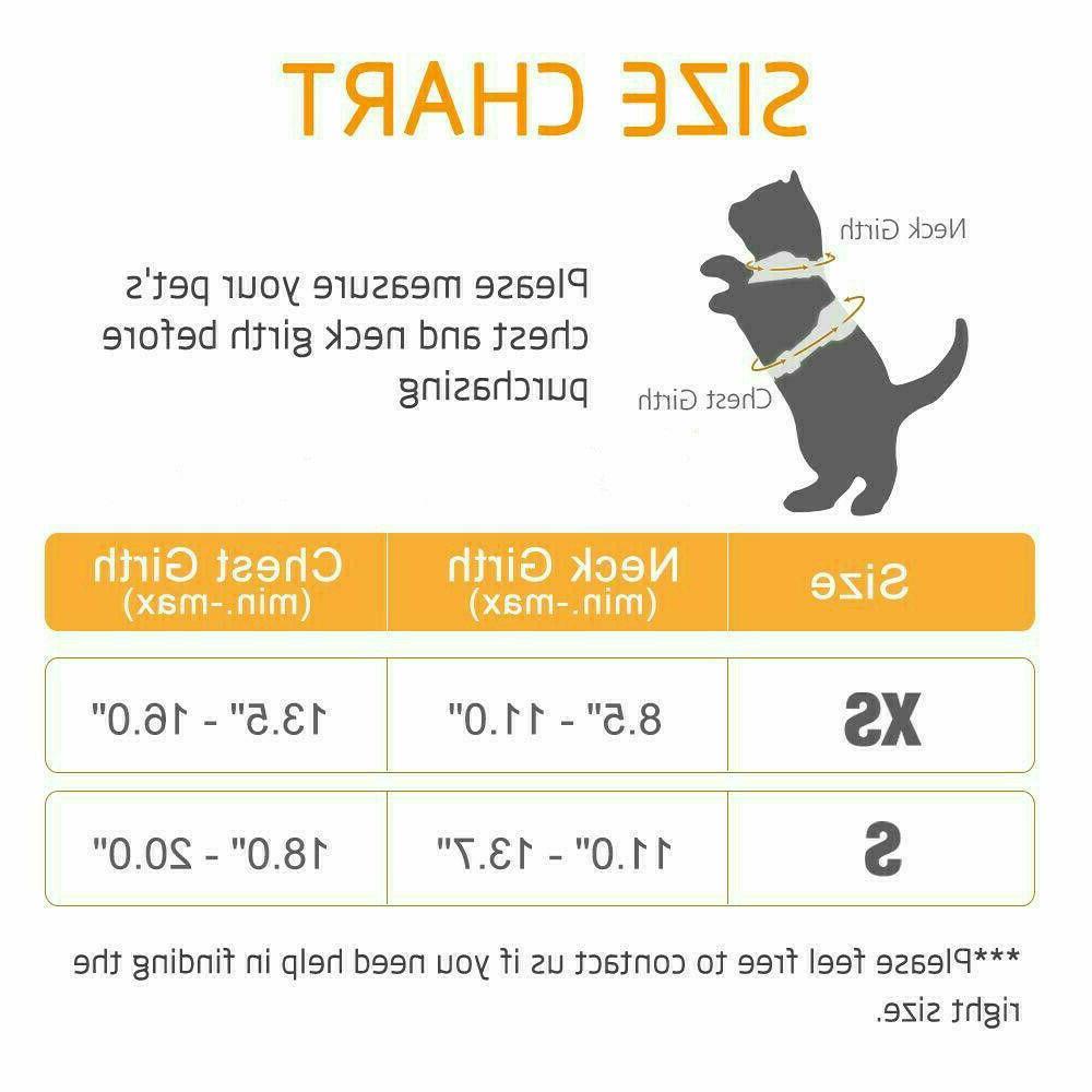 Rabbitgoo Cat Walking Vest with 59 In