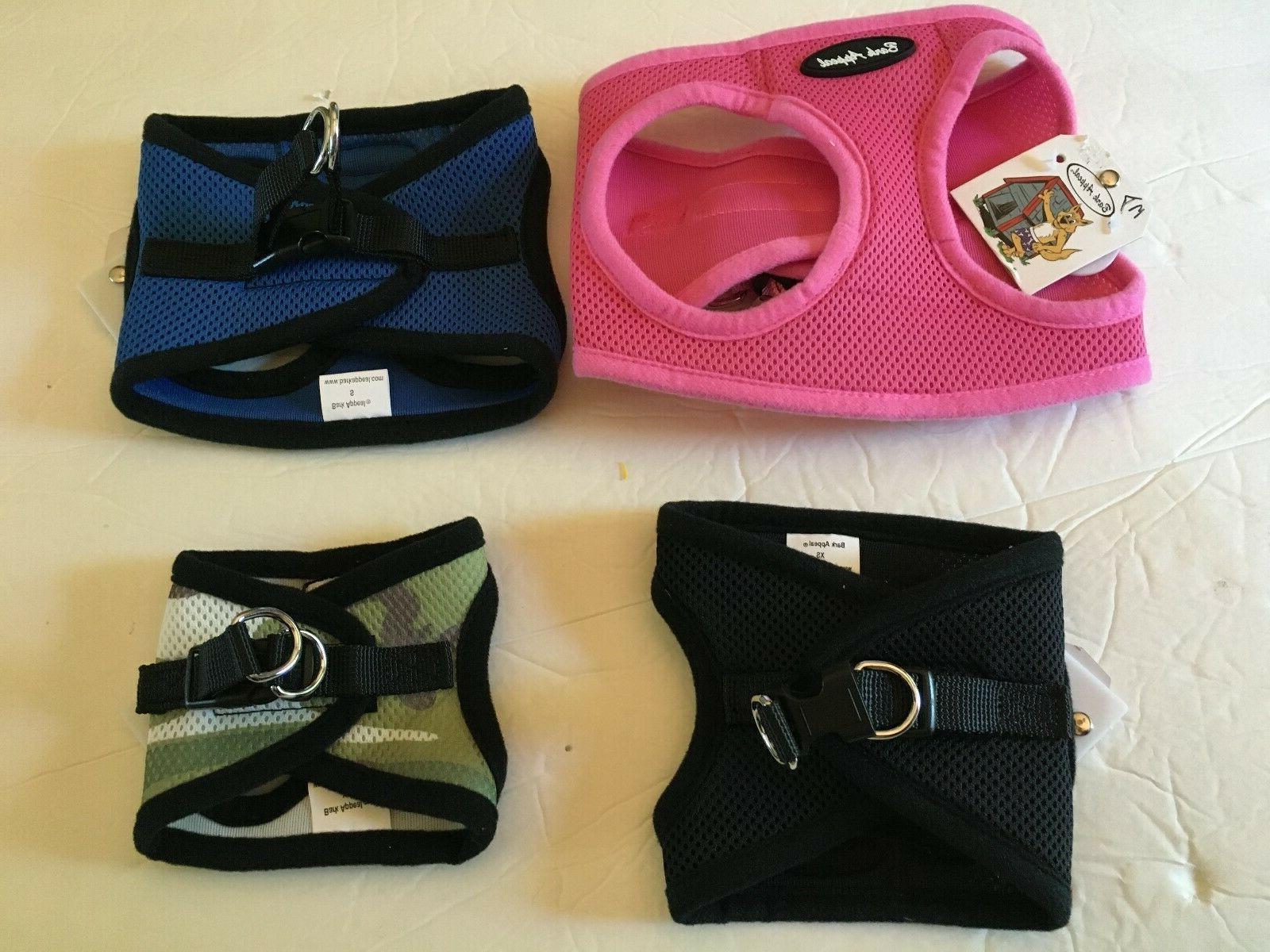 comfort mesh step in harness xxs med