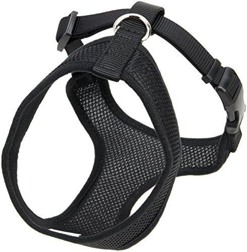 comfort soft harness black dogs