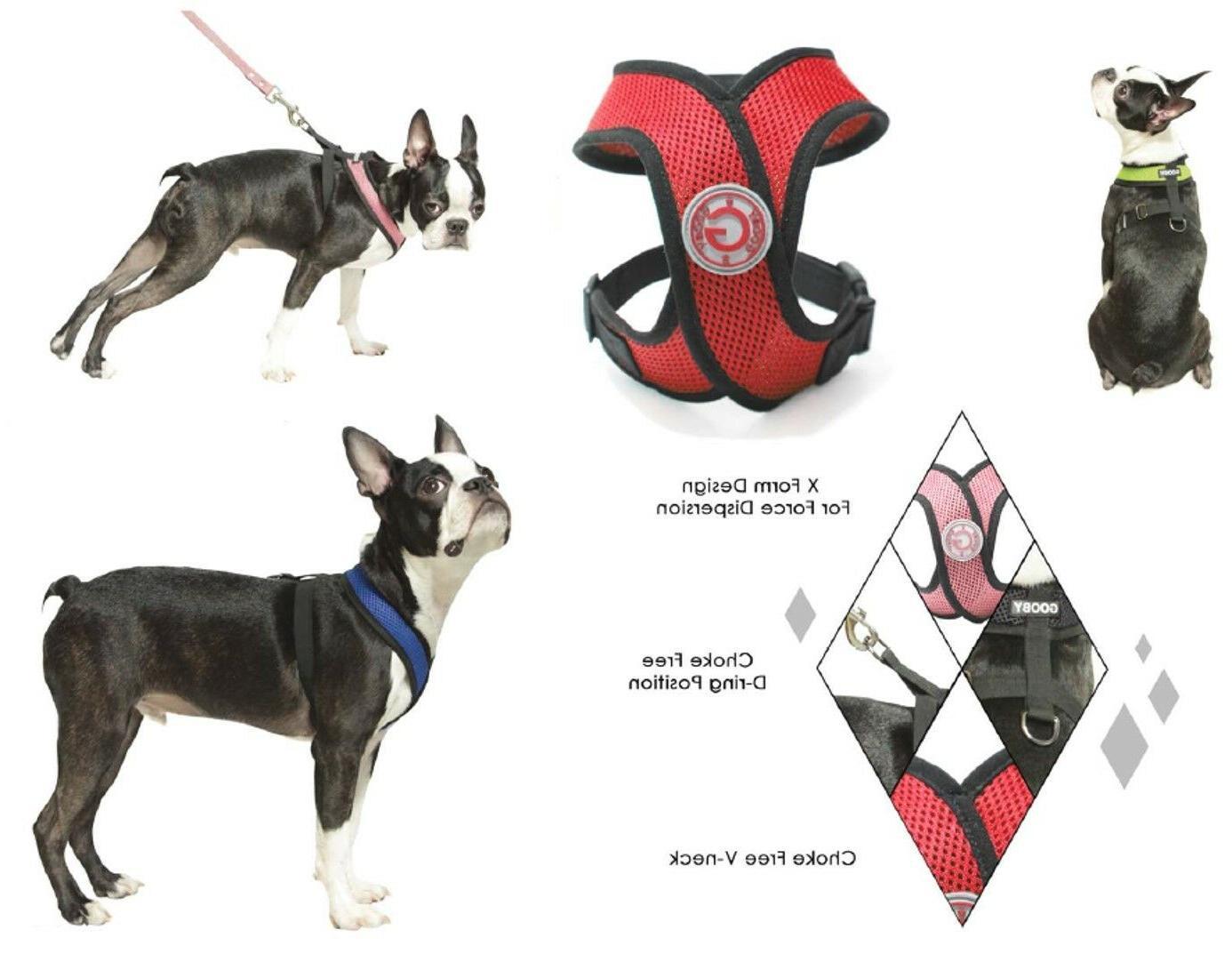 Gooby X Breed Dog Harness Choke Free - M Medium L