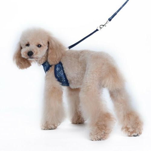 Cowboy Breathable Pet Dog Vest Set Puppy