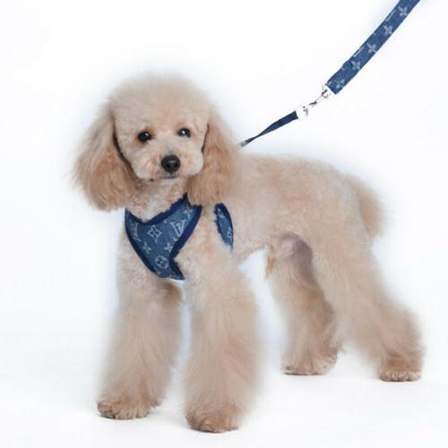 Cowboy Vest Harness Set Puppy