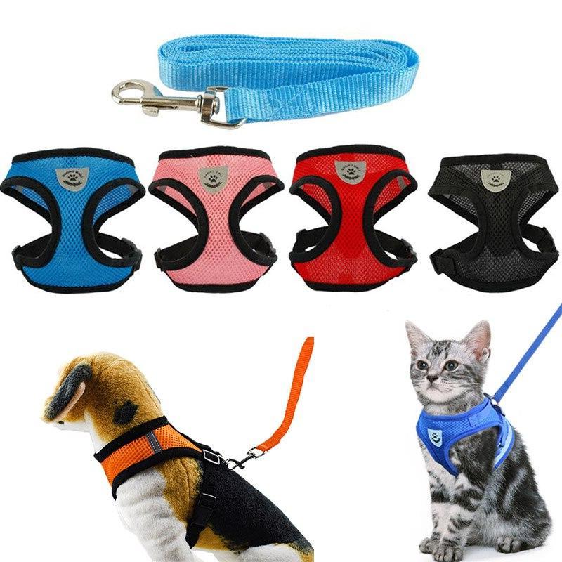 Dog Cat Collar Collar Dogs Breast-Band Leash