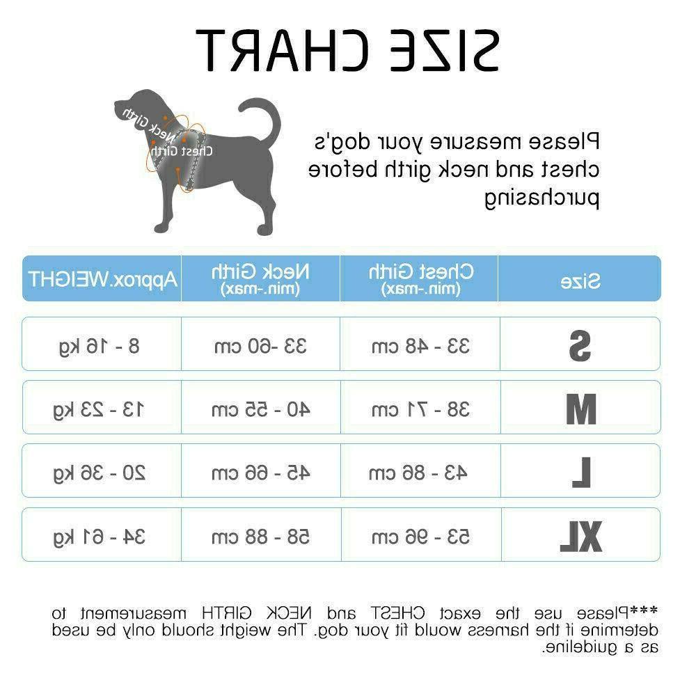 Rabbitgoo Dog Harness Pet Control Collar Vest