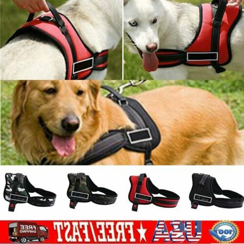 Dog Harness Harness Outdoor Reflective
