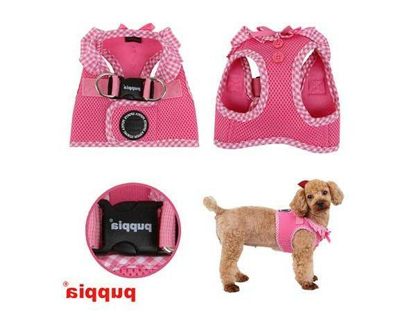 Dog Harness Vest Vivien Pink Choose Size