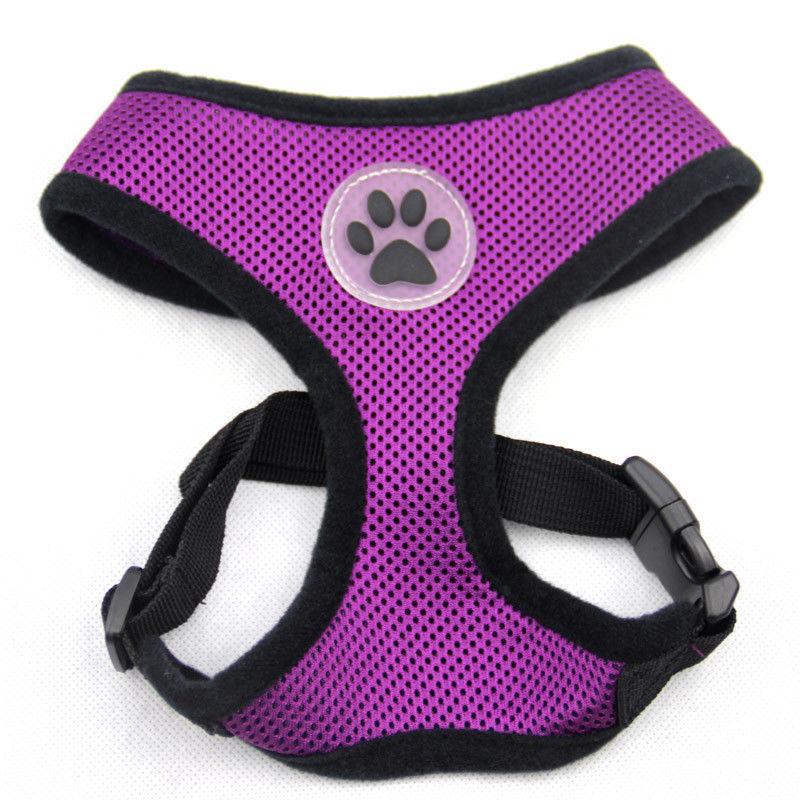 Dog Puppy Harness Paw - 10 XS, M, L