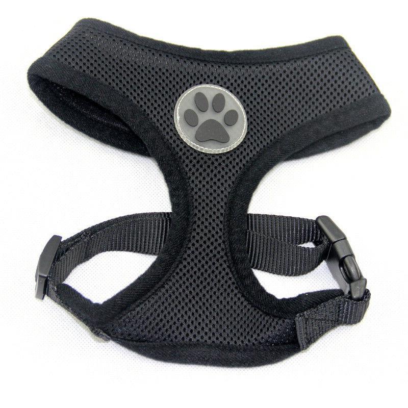 Dog Puppy Mesh Harness Design - 10 - S, M, L