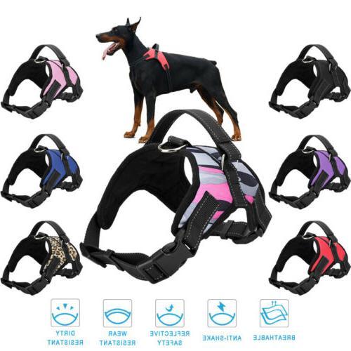 Dog Vest No Pull Collar Set Large Small
