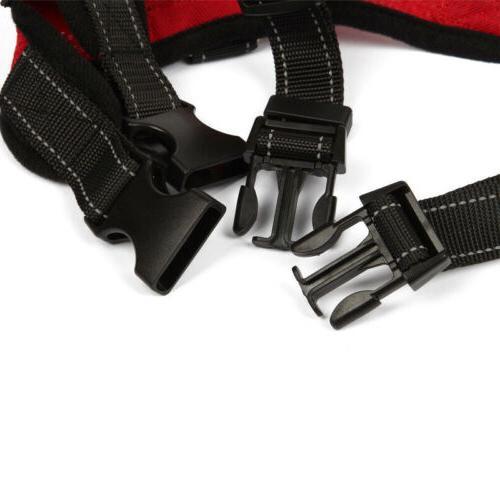 Dog Harness Adjustable No Pull Leash Collar Set Small