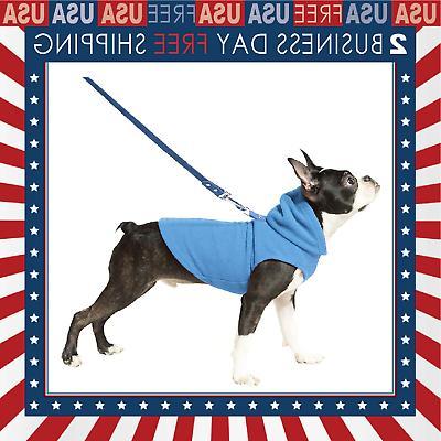 Fleece Vest Hoodie Small Dog Pull Over Hooded Fleece Jacket