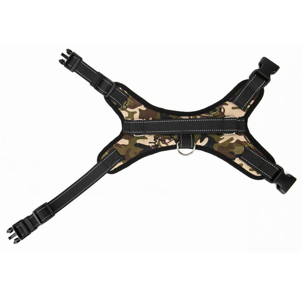 <font><b>Nylon</b></font> <font><b>Heavy</b></font> Pet Harness Collar Adjustable Padded Extra Big Large Medium Small Harnesses vest Husky